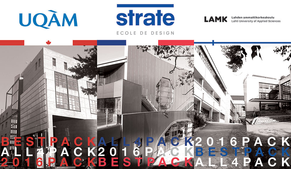 Strate Ecole de design sur All4pack