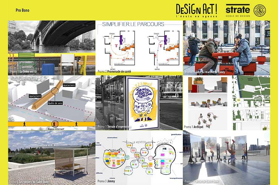Ecole de design en agence