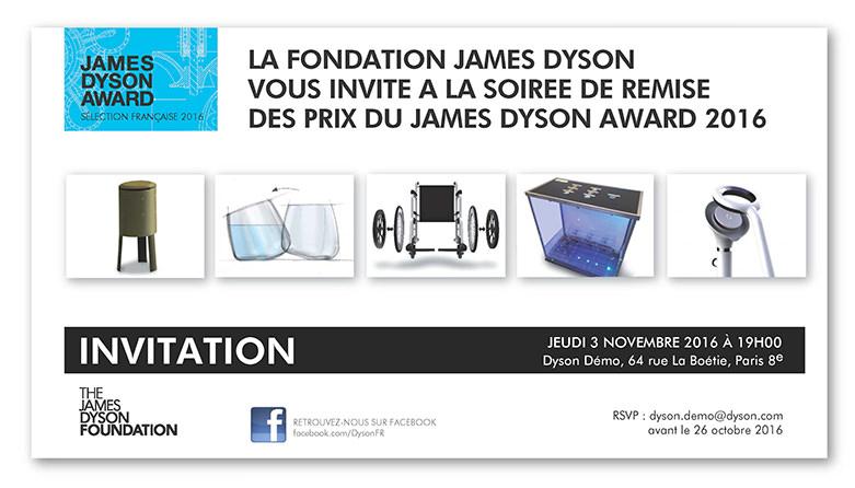 Ecole de design james dyson awards