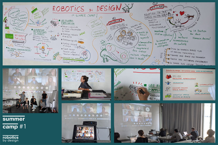 école de design ; Robotics by Design Lab ; Summer Camp