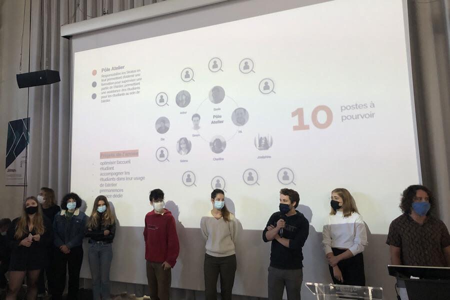ecole de design associations