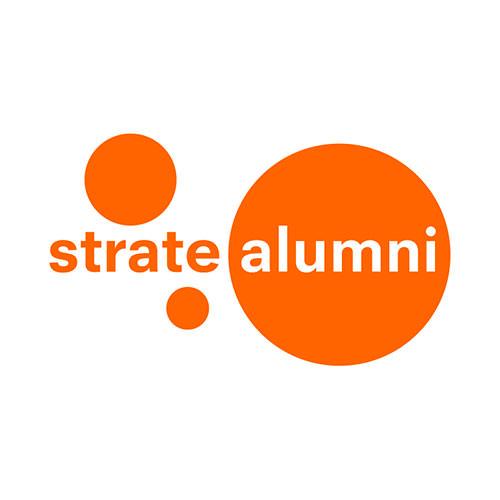 Strate alumni logo