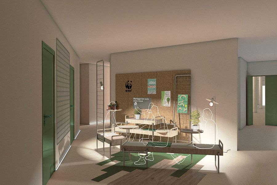 école de design ; Nexity Studéa , projet design