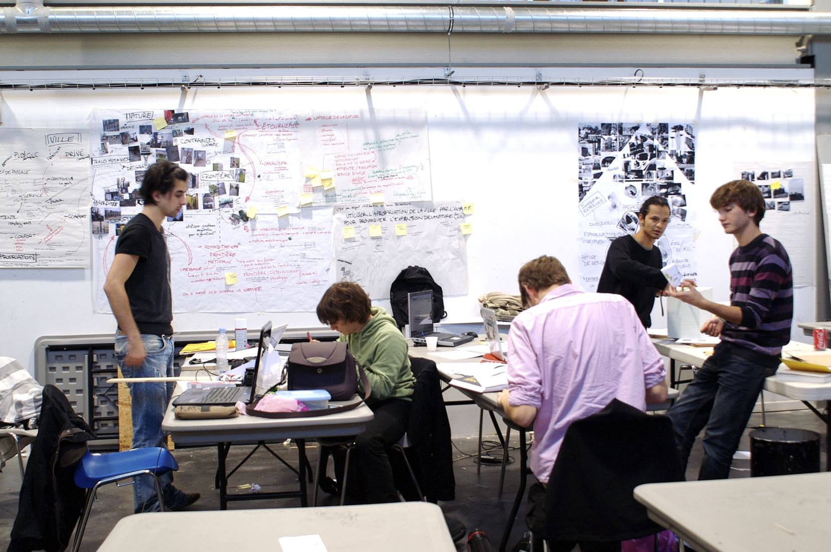 Ambiances de cours strate cole de design for Cours de design