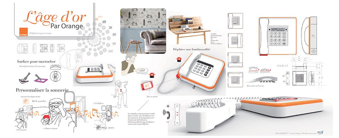 produit 3 me ann e t l phone seniors strate cole de design. Black Bedroom Furniture Sets. Home Design Ideas
