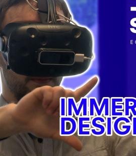 Diplôme de design de Réalité Virtuelle, immersive design - Mémosphère