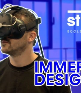 Projet de Design de Réalité Virtuelle - Orientation scolaire - Immersive design