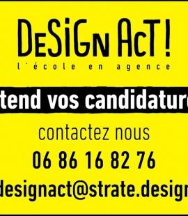 Strate - Design Act ! L'école en agence - Oliver Saguez