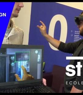 Strate - préparation de diplpôme Immersive Design - Réalité Augmentée