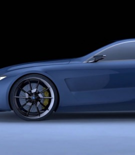 Formation 3d - Strate - 2018 - Animation BMW 8 serie