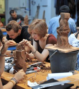 Le Workshop Modelage 3D de 2e année