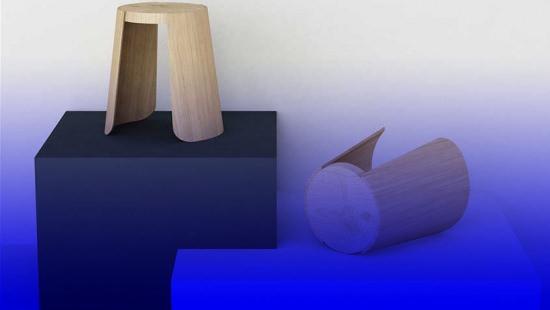 Tabouret design produit