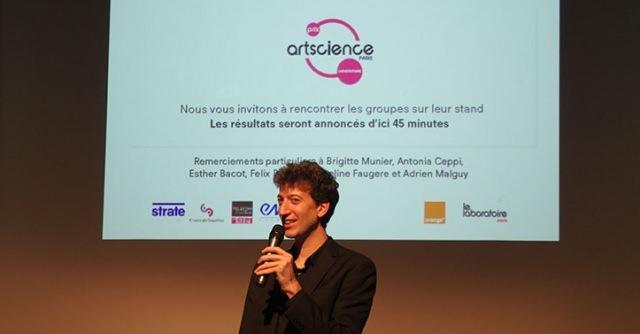 Prix ArtScience Paris Universités 2015