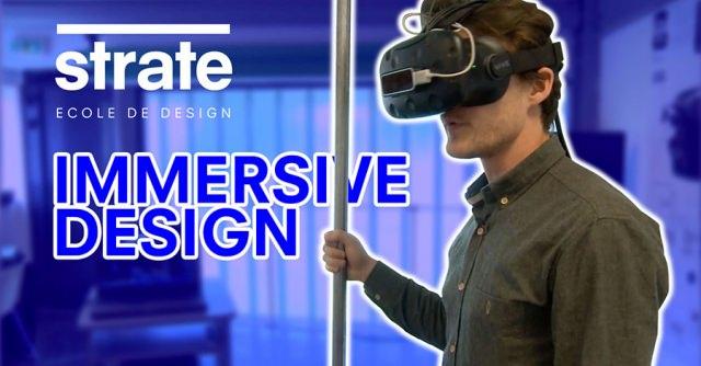 réalité virtuelle, immersive design