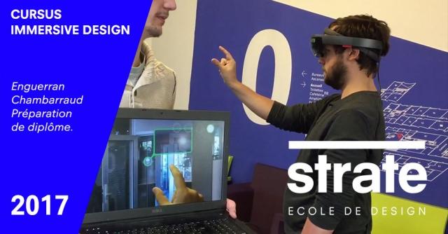 réalité augmenté, immersive design, ecole 3d, immersion design,