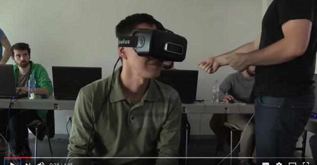présentation du cursus design realité virtuelle