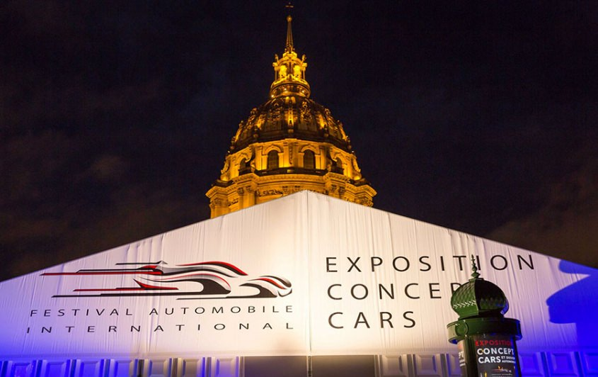 Ecole design industriel, festival automobile international