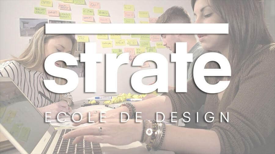 Strate ecole de design à Paris et Lyon, vidéo de présentation